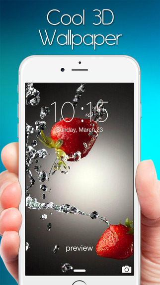 Cool 3D Wallpapers – Deluxe HD Retina Backgrounds and Themes for Home Screen Lock Screen