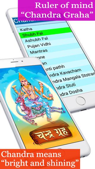 Chandra Grah The god of mind