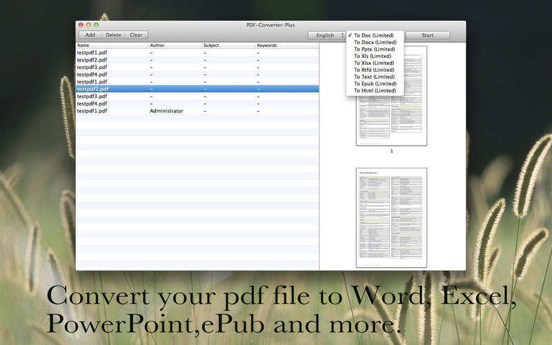 PDF-Converter-Plus Screenshot - 3