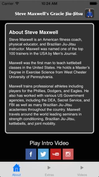 Steve Maxwell's Gracie Jiu-Jitsu Self Defense