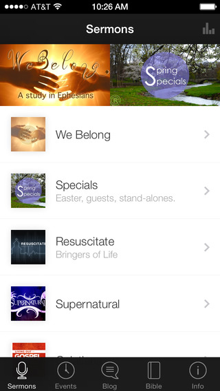 Reading City Church App