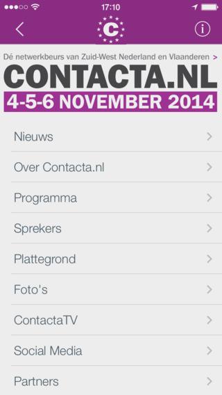 Contacta.nl App