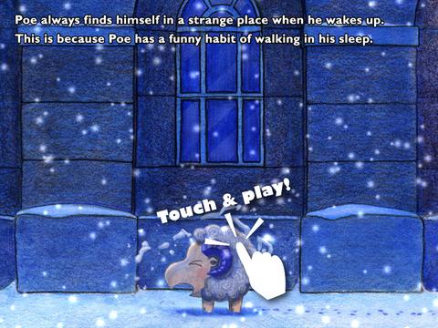 STRAY SHEEP Poe's Christmas iPad Screenshot 3