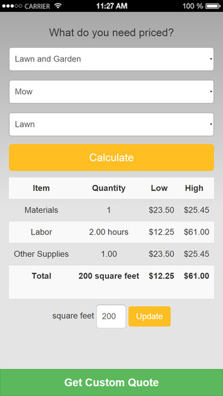 Home Remodel Calculator