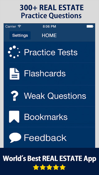 Dearborn Real Estate Education Exam Prep App - Practice Questions Study Guide with Flashcards for Re