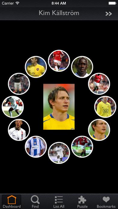 UEFA Players Скриншоты5