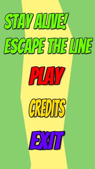 【免費遊戲App】Stay Alive! Escape the Line-APP點子
