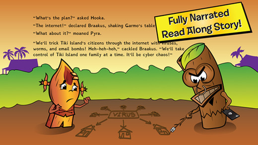 Gigabytes of Disaster Book 10 Internet Safety - Neon Tiki Tribe - English