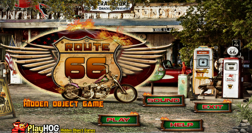 Route 66 - Free Hidden Object Game