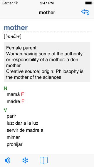 English-Armenian Talking Dictionary iPhone Screenshot 2