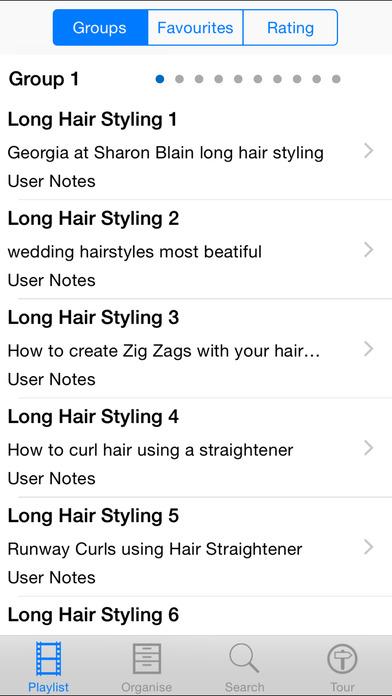 Long Hairstyling iPhone Screenshot 2