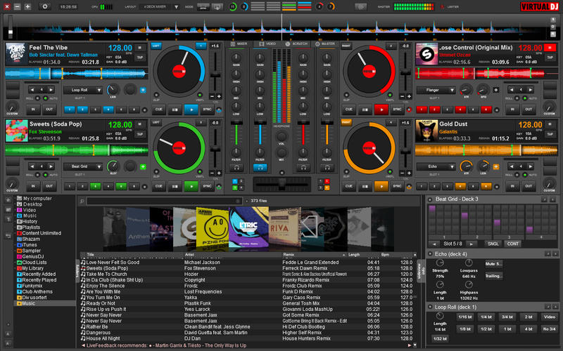 VirtualDJ Screenshot
