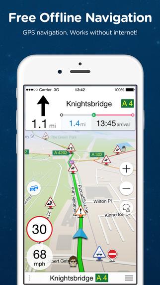 Navmii GPS Indonesia: Navigation Maps Navfree GPS