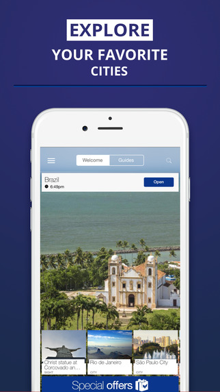 Brazil - your travel guide with offline maps from tripwolf guide for sights tours and hotels in Rio