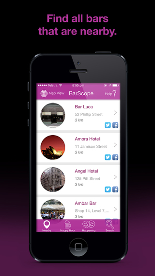 BarScope – Find local Bars Pubs Nightclubs