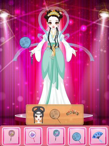 西施美人-古代美女传统服装