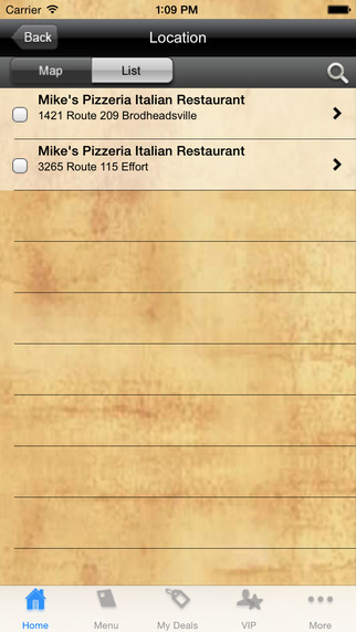 Mike's Pizzeria Italian Restaurant