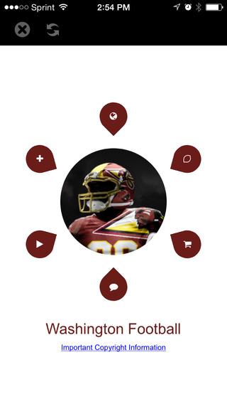 Football STREAM+ - Washington Redskins Edition