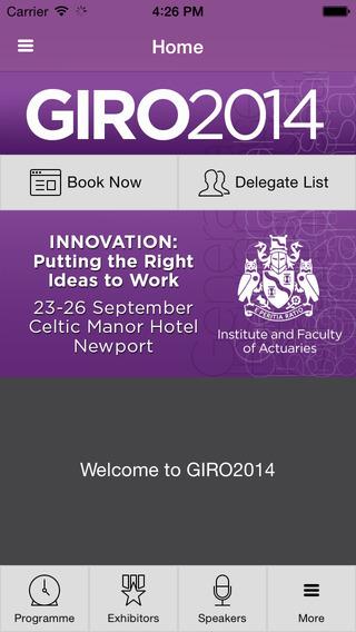 IFoA GIRO Conference 2014