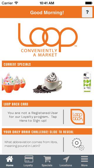 Loop Back Rewards