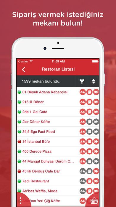 Screenshot for Mekan.com Sipariş: Online Yemek Siparişi, Pizza, Kebap, Hamburger, Lahmacun, Tatlı, Pide, İskender, Döner, Dürüm in Azerbaijan App Store