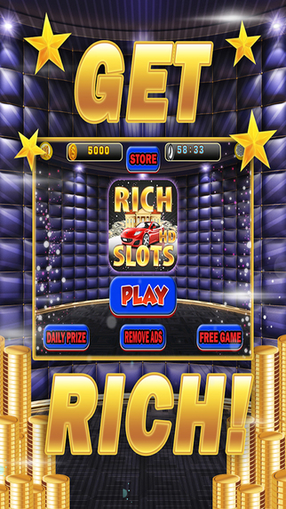 Rich Slots - Casino Slot Machine Game Free