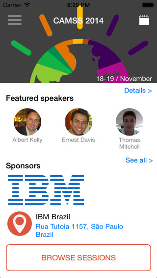 IBM Conference App