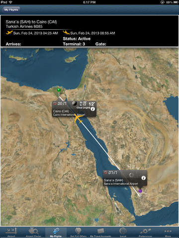 Cairo Airport + Flight Tracker Premium HD - Egyptair Nile air
