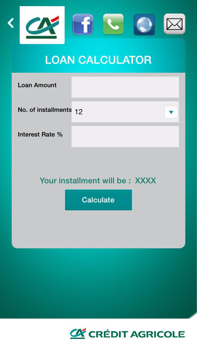 Crédit Agricole Egypt Mobile Application