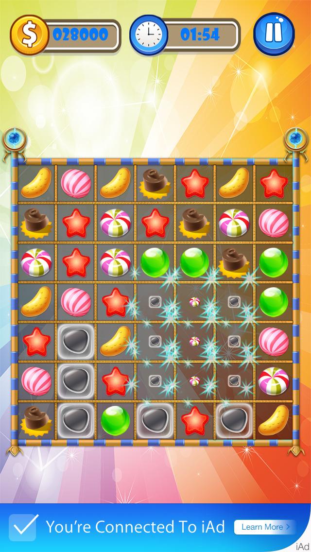 Candy Burst - Free Download (Ver:1.2) for iOS - AppSoDo.com