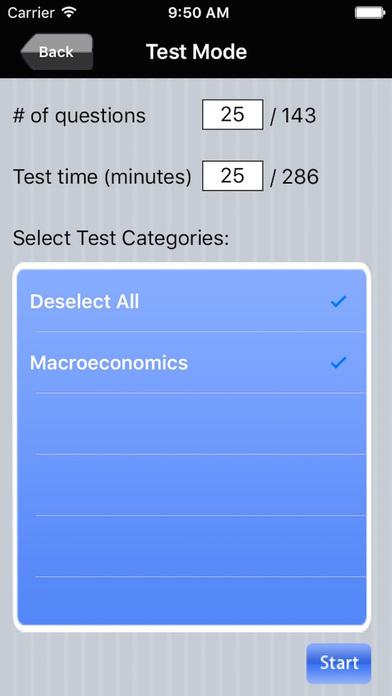 AP Macroeconomics Exam Prep iPhone Screenshot 4