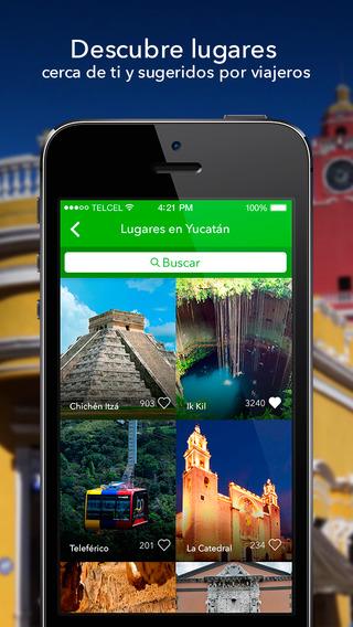 玩旅遊App|México Destinos - Tours, mapas y guía para planear tu viaje con los mejores lugares a visitar en México免費|APP試玩