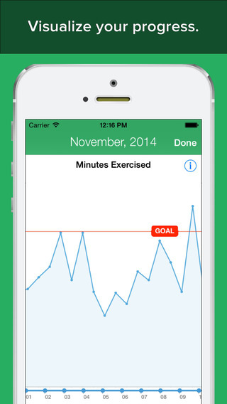 FitCommit - Fitness Tracker and Timer iPhone Screenshot 5