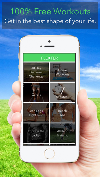 Flexter Fitness: Free Daily Workouts