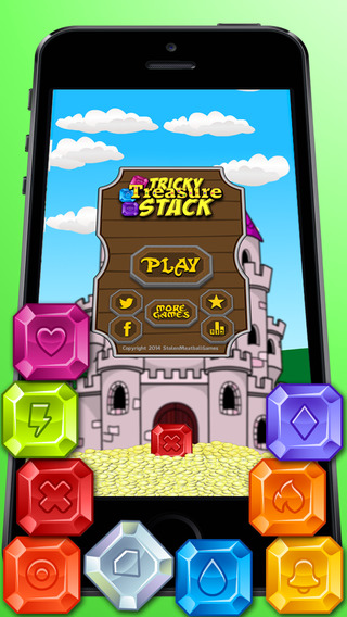 Tricky Treasure Stack