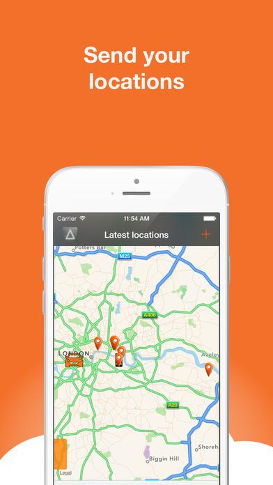 AutoAlert Tracker iPhone Screenshot 1