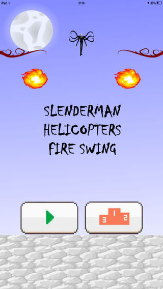 Slenderman Helicopters Fire