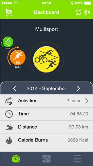 Bryton Sports Mobile App