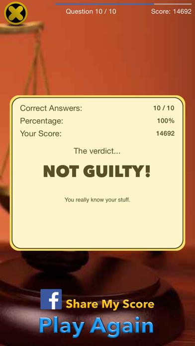 criminal justice mini quiz Study 40 quiz 10 flashcards from ross w on studyblue.