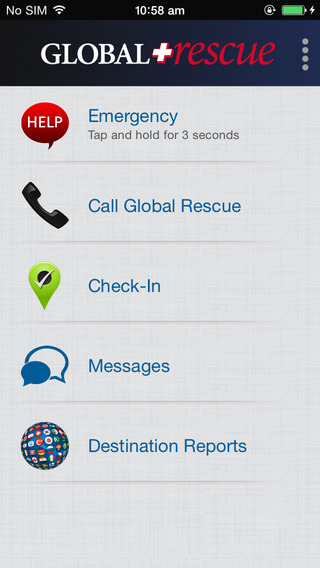 Global Rescue Mobile App
