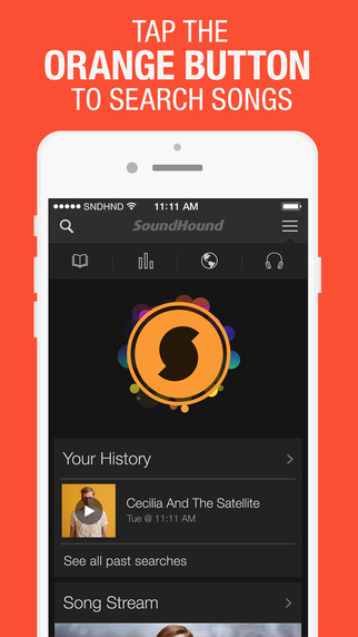 SoundHound ∞ + LiveLyrics Song Search Discover Music Charts Play Videos