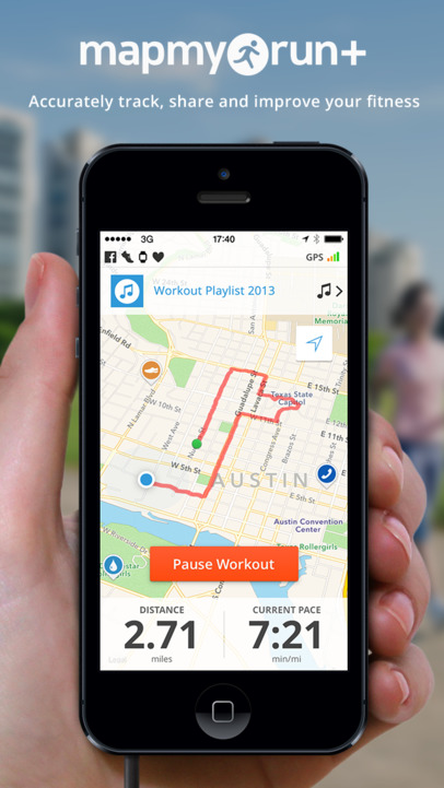 Run with Map My Run+ - GPS Running, Jog, Walk, Workout Tracking and Calorie Counter - iPhone Mobile Analytics and App Store Data