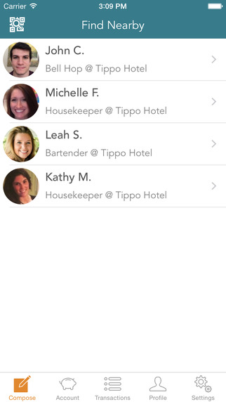 Tippo - Pay Tips From Your Phone