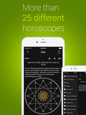 Full Horoscope - Daily prediction and horoscopes of your destiny and future or fate screenshot
