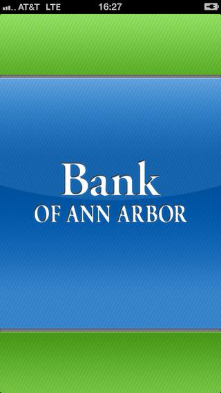 Bank of Ann Arbor Mobile Banking
