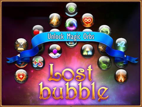 Lost Bubble Mobile Screenshots