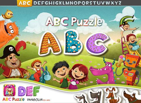 ABC Puzzle - Pangolin Educational Games