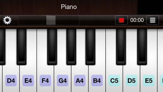 Piano for iPhone