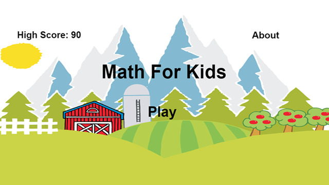 Math Fun for Kids and Kindergarten Learning Game