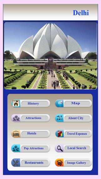 Delhi Offline City Guide